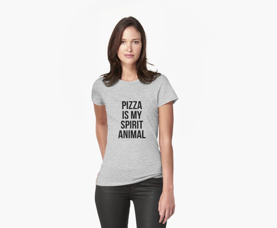 Pizza is my spirit animal