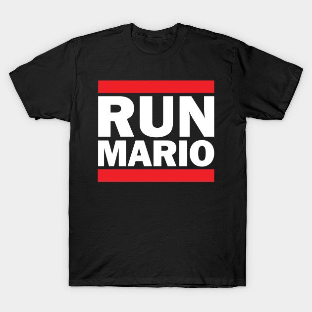 Run Mario DMC T-Shirt