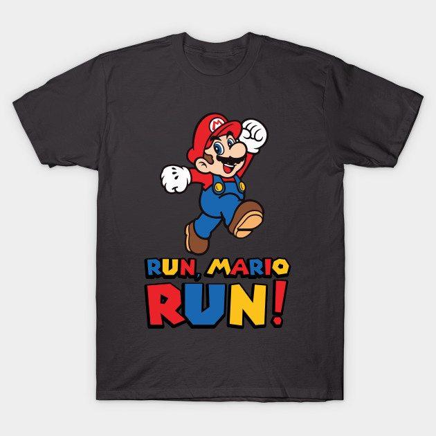 Run, Mario Run T-Shirt