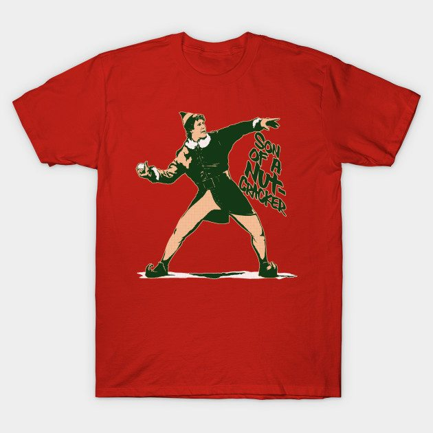 Son of a Nut-Cracker: Snowball Thrower T-Shirt