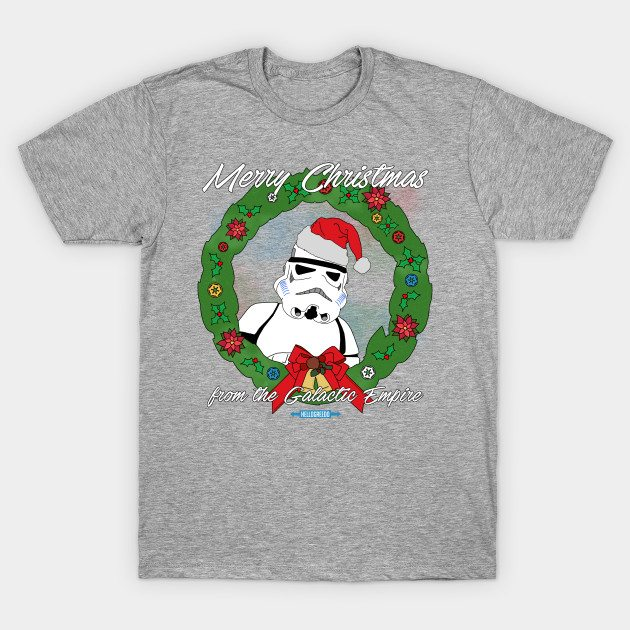 Star Wars Christmas – Merry Christmas from the Galactic Empire T-Shirt