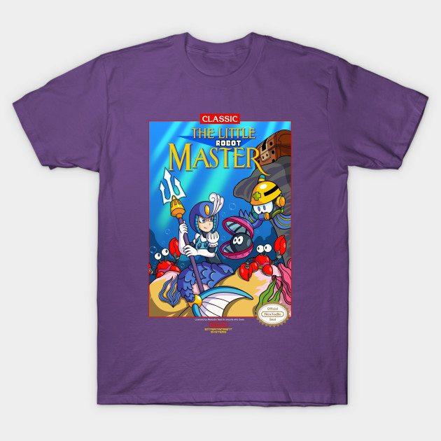 The Little Robot Master T-Shirt