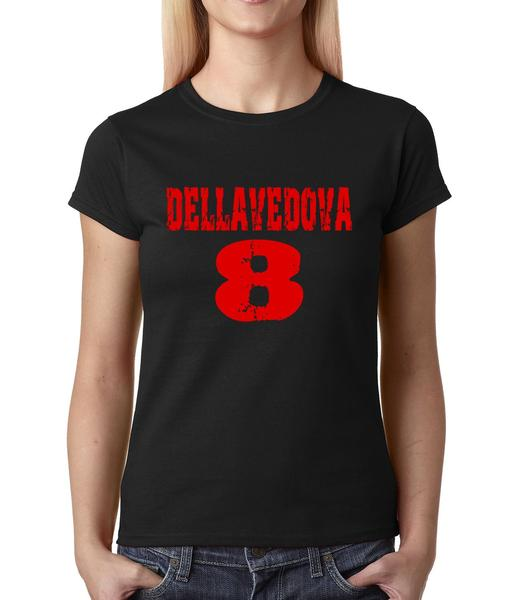 Womens Dellavedova #8 T-Shirt Medium Black