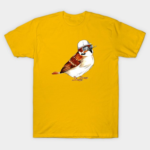 Worker Male House Sparrow T-Shirt