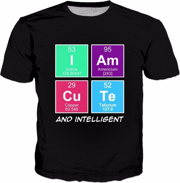 Chemical Elements – I am Cute and intelligent