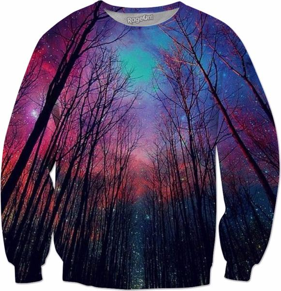 Colorful sweatshirts