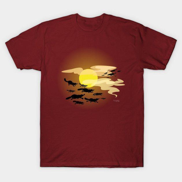 Flock of platypus T-Shirt