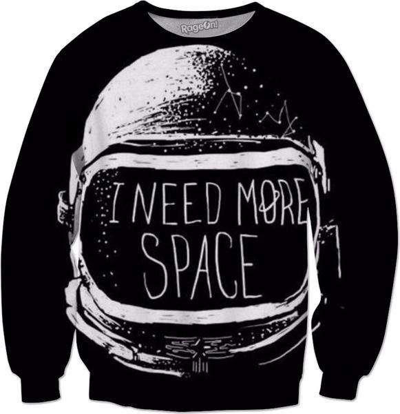 Funny space sweatshirts