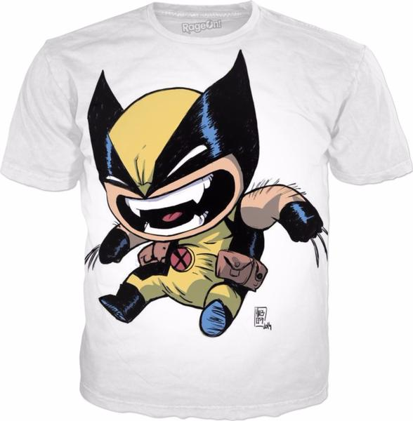 Funny wolverine t shirts