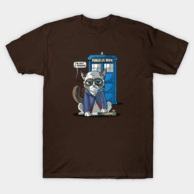 Groutchy Doctor Cat T-Shirt