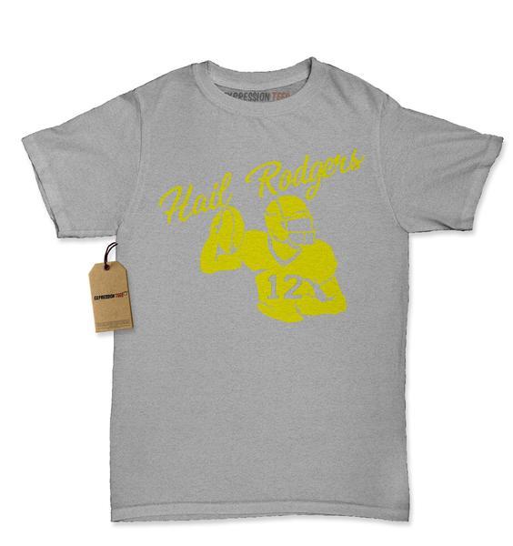 Hail Rodgers Football Quarterback Womens T-shirt