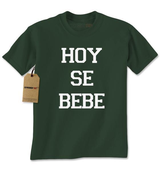 Hoy Se Bebe Party Time Mens T-shirt