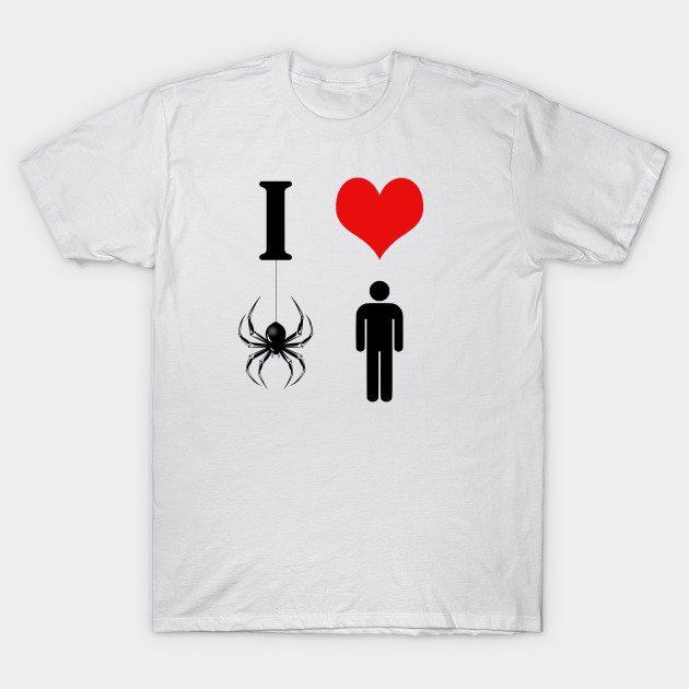 I Heart the Spider Man T-Shirt