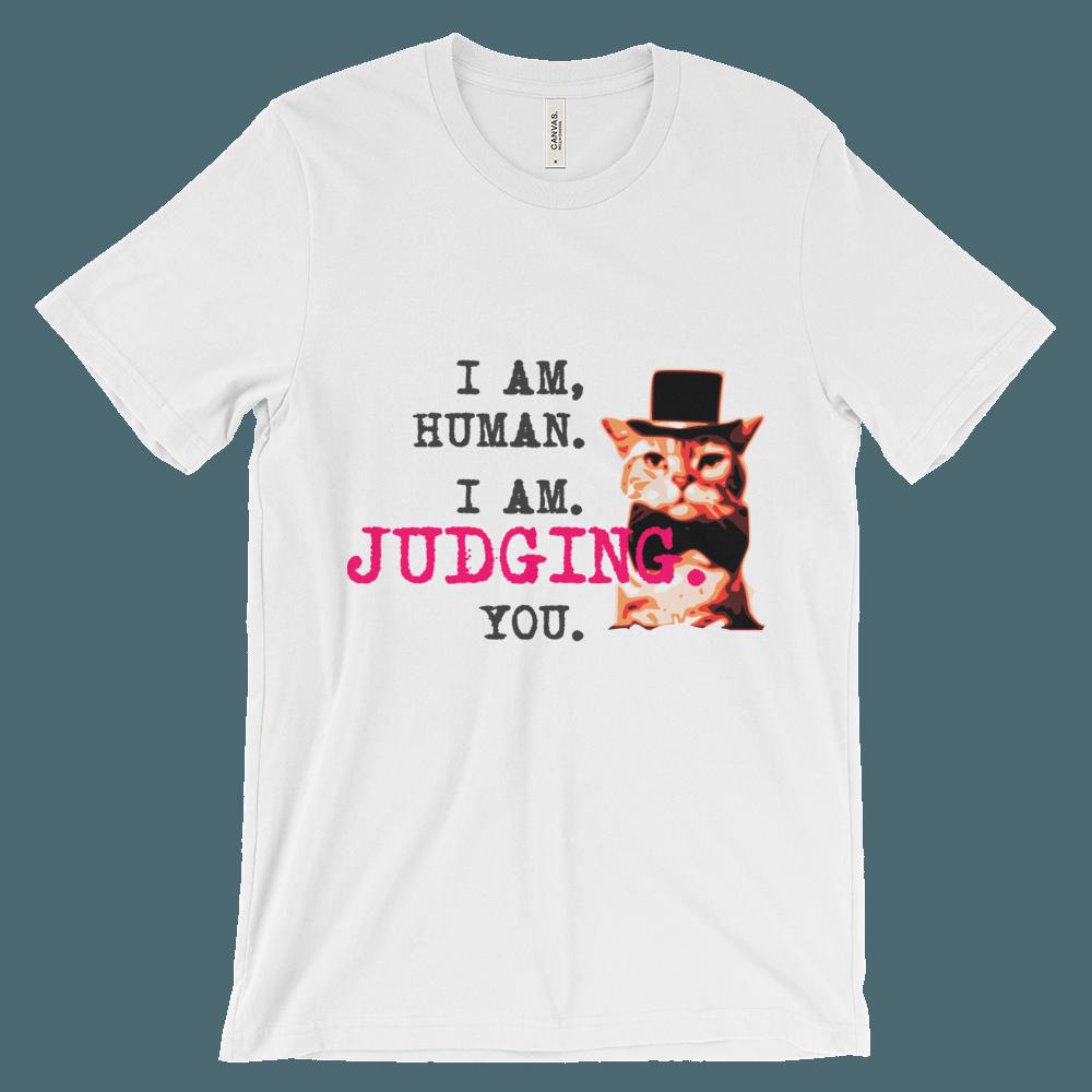 Judgemental Cat T-Shirt