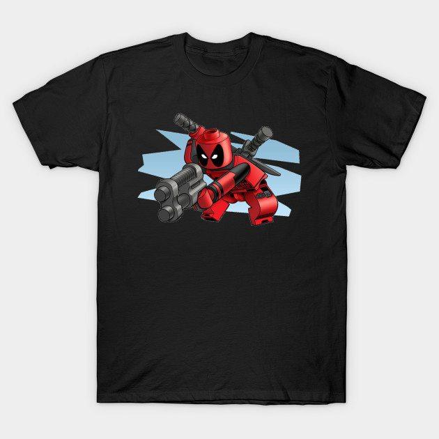 lego deadpool T-Shirt