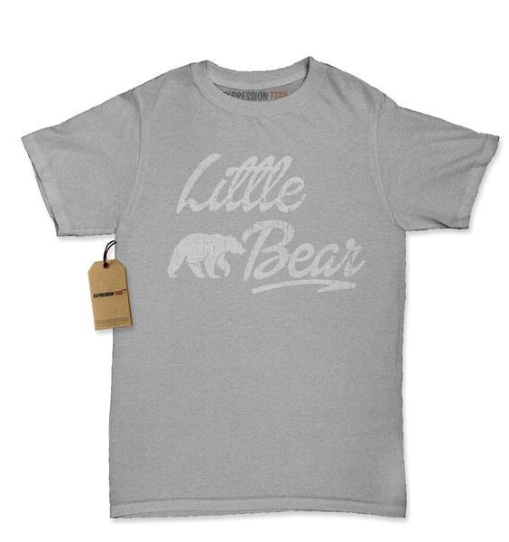 Little Bear Cub Family Womens T-shirt