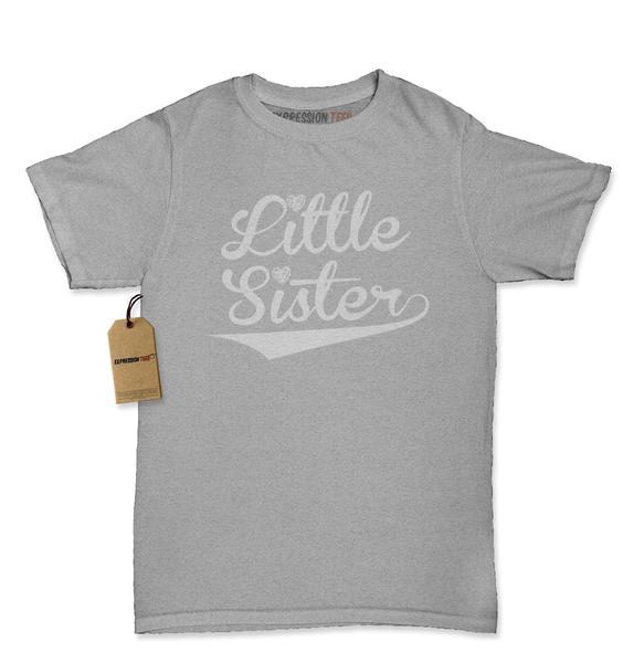 Little Sister Siblings Womens T-shirt