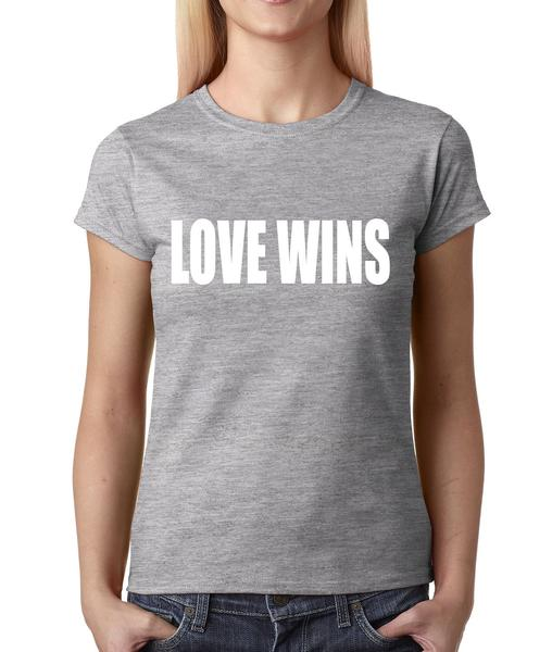 Love Wins Marriage Equality For All Womens T-shirt