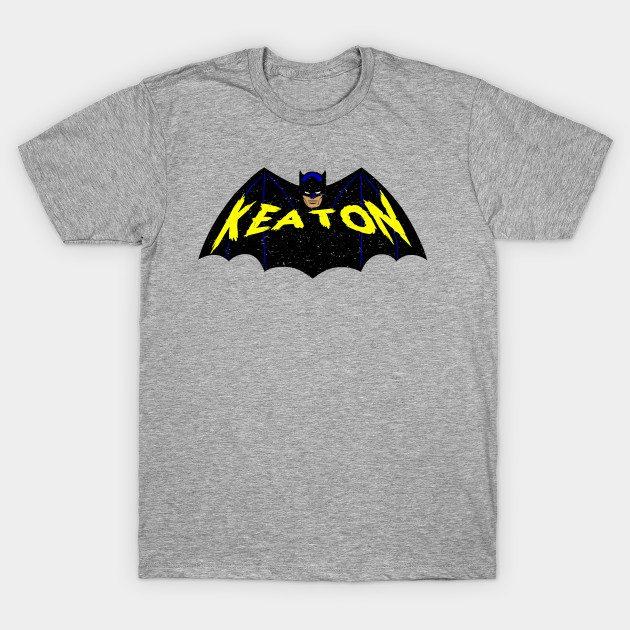 Michael Keaton Bat Logo T-Shirt