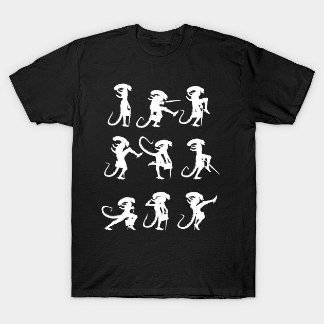 MInistry of Alien Silly Walks T-Shirt