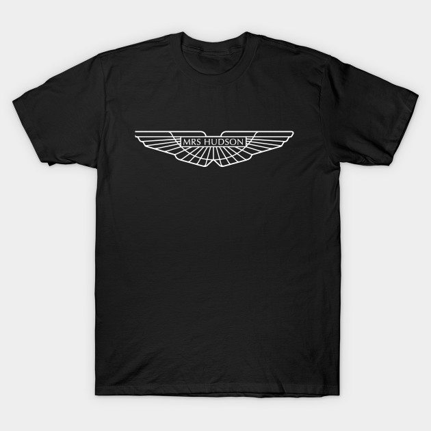Mrs Hudson Aston Martin T-Shirt