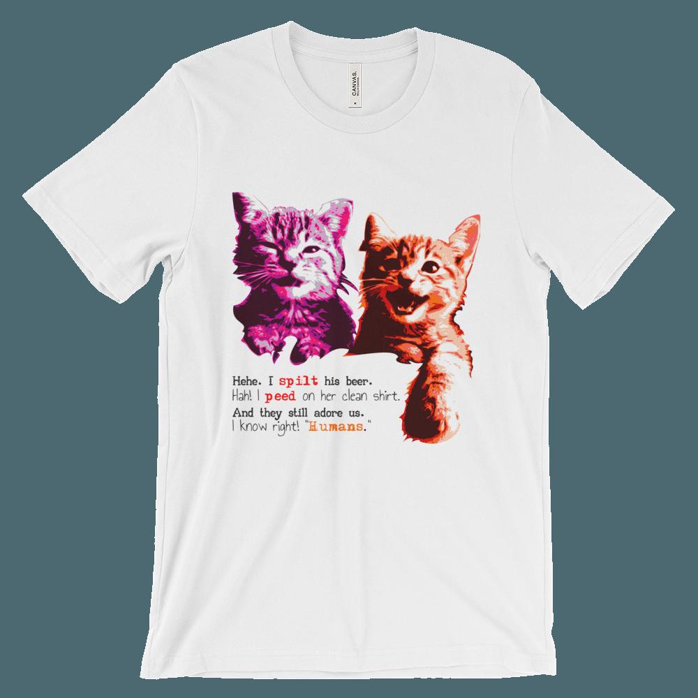 Naughty Cats T-Shirt