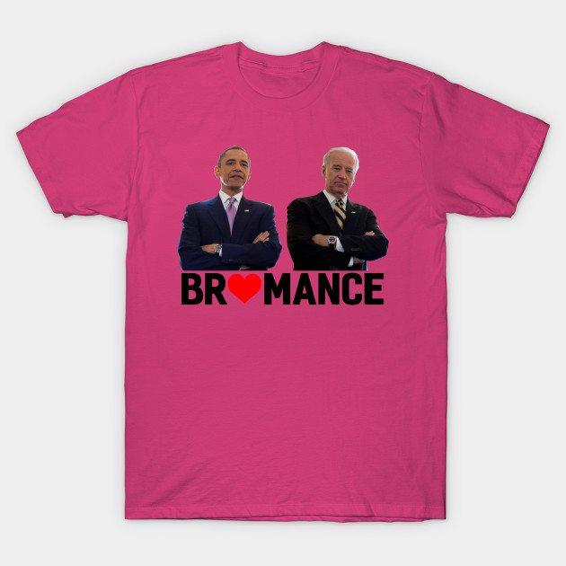 Obama & Biden – bromance T-Shirt