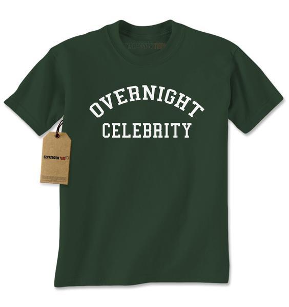 Overnight Celebrity Mens T-shirt