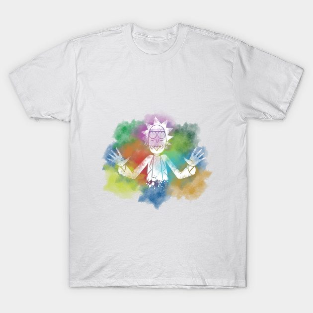 Rick and Morty Minimal T-Shirt