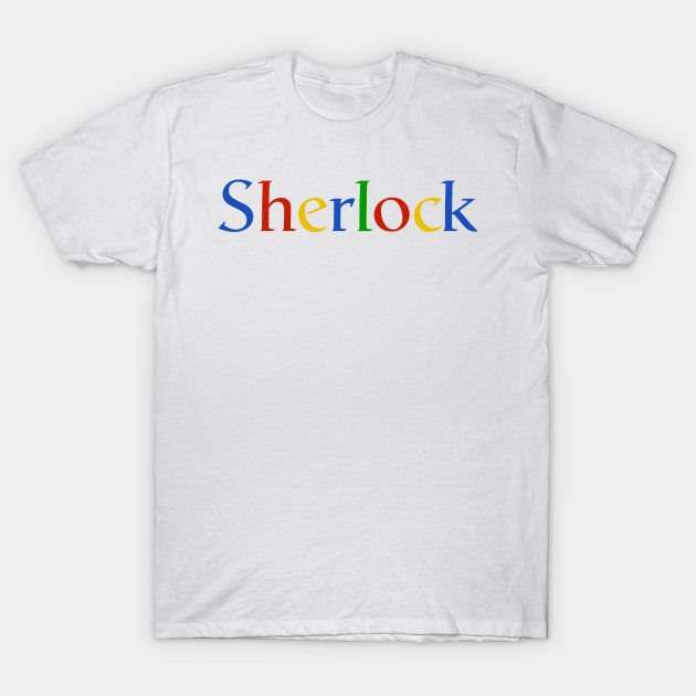 Sherlock Google T-Shirt