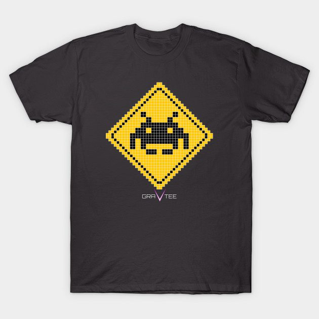 Space Invader Xing T-Shirt