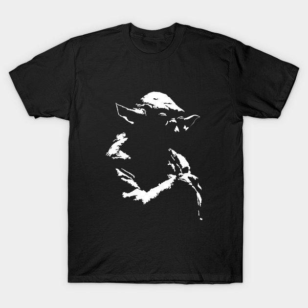 Star Wars Yoda Minimal T-Shirt