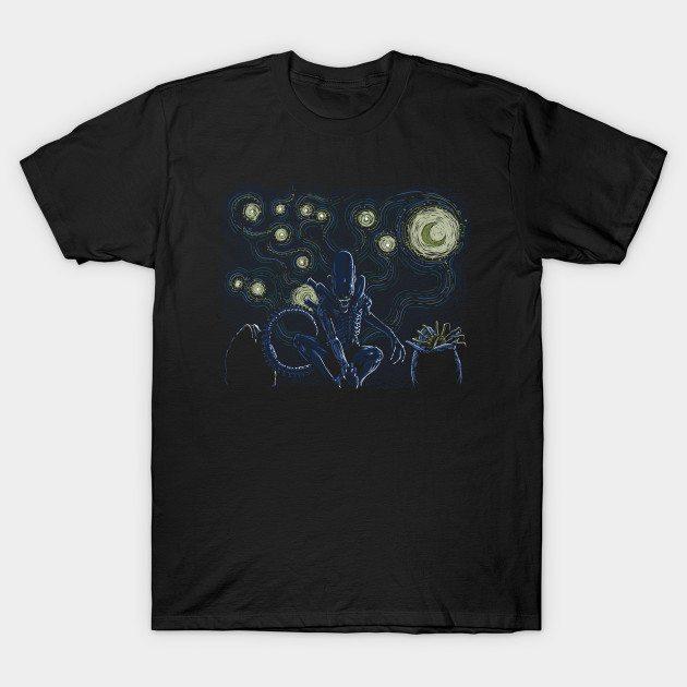 Stary Xenomorph T-Shirt