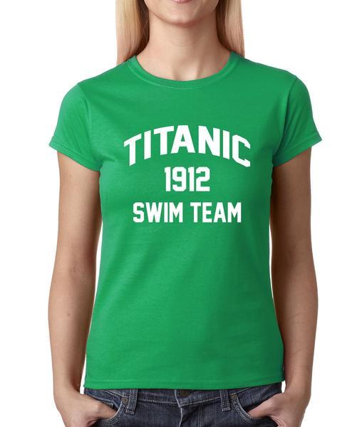 Titanic Swim Team 1912 Womens T-shirt