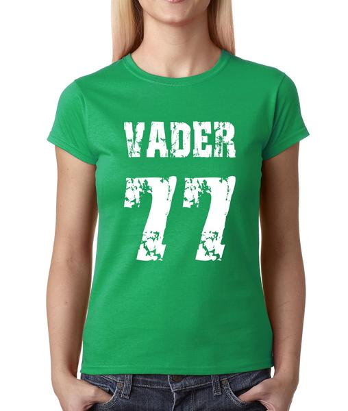 Vader '77 Movie Theme Womens T-shirt