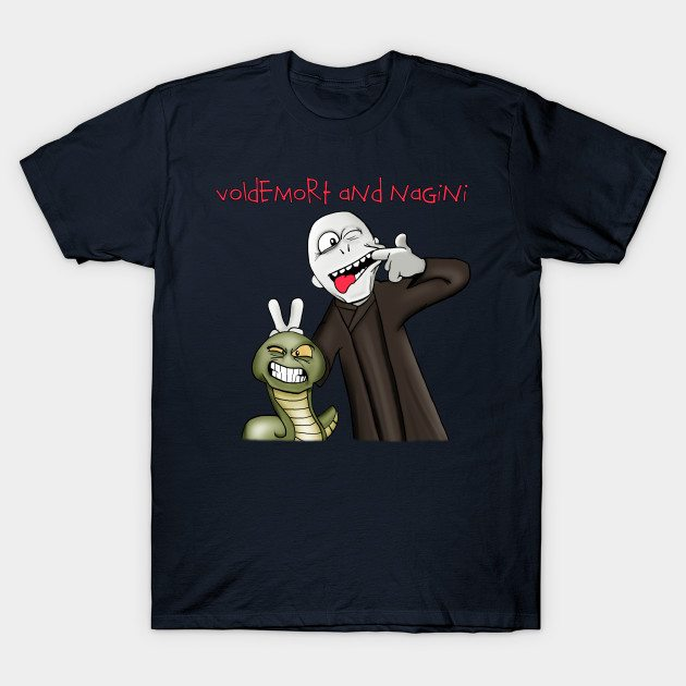 Voldemort and Nagini T-Shirt