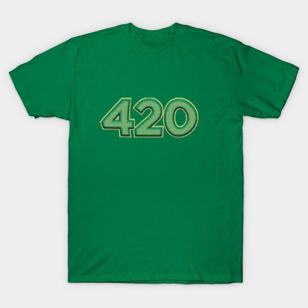 420 – weed T-Shirt