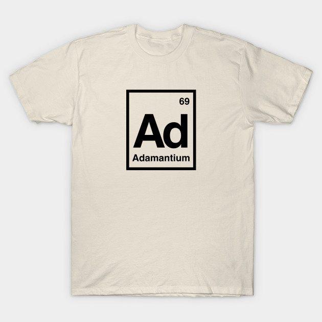 ADAMANTIUM – A MARVEL ELEMENT T-Shirt