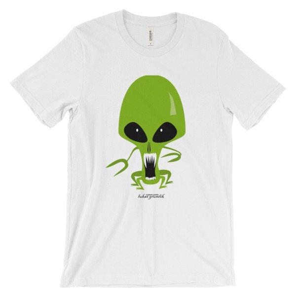 Alien short sleeve t-shirt | Unisex –