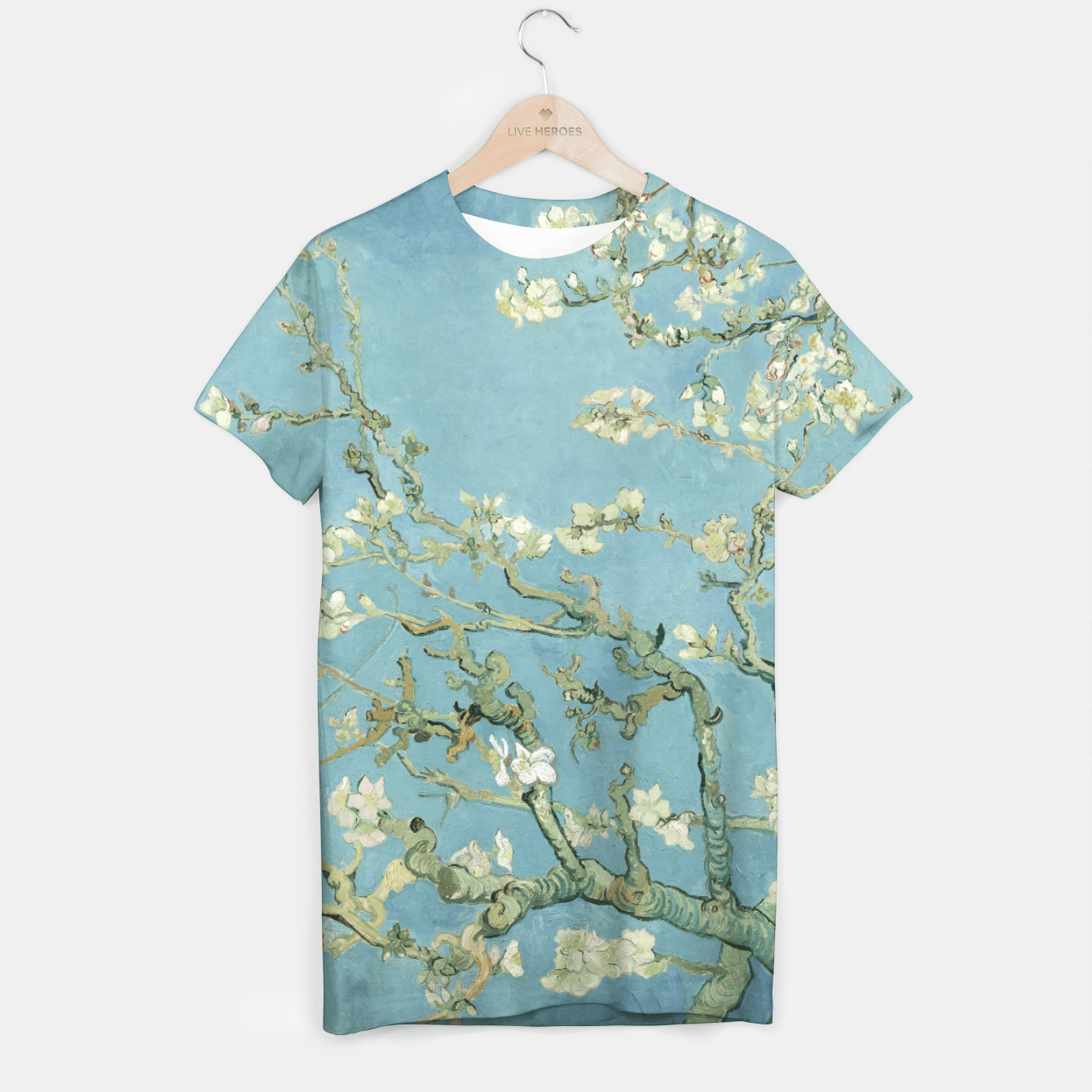 ALMOND BLOSSOM BY ViNCENT VAN GOGH T-shirt, Live Heroes
