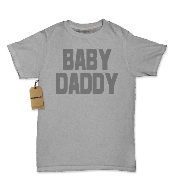 Baby Daddy Funny Father's Day Womens T-shirt