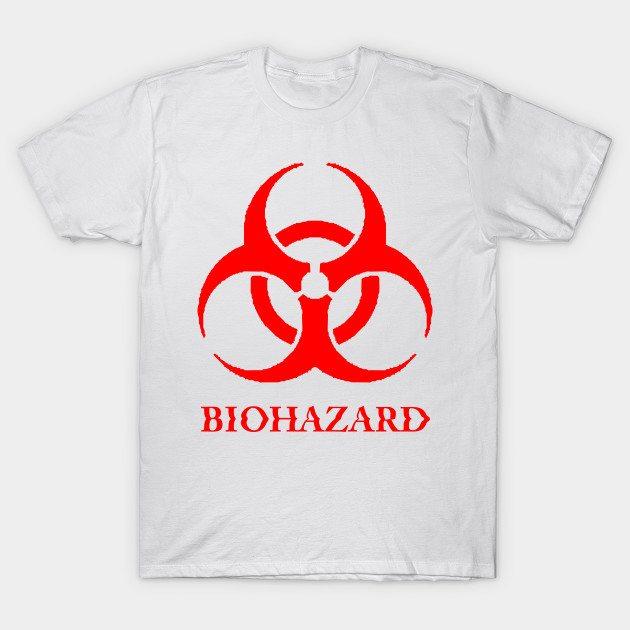 Biohazard grunge. T-Shirt