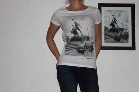 classic t-shirt wainao-gomez AI2-WHITE-women