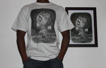 classic tee shirt wainao AI- gomez- GREY -men