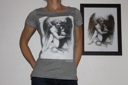 classic tee shirt wainao- dagorov- GREY-women