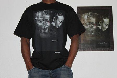 classic tee shirt wainao- torres- BLACK-men