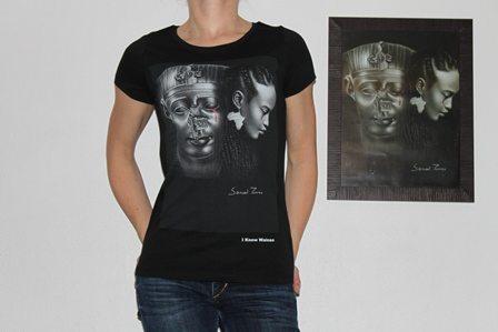 classic tee shirt wainao – torres-BLACK- women