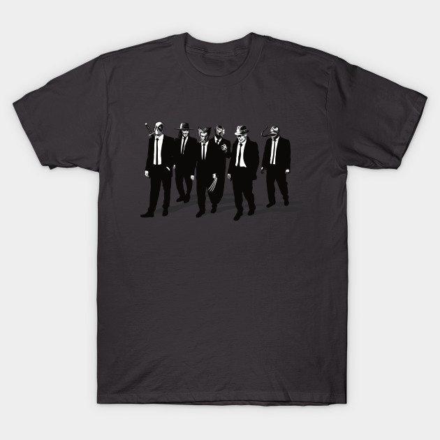 Comic Bad Dogs ( Dark variant) T-Shirt