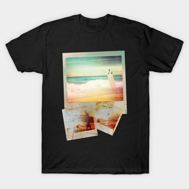 Cool Design Vintage Style Beach Surf T-shirt T-Shirt