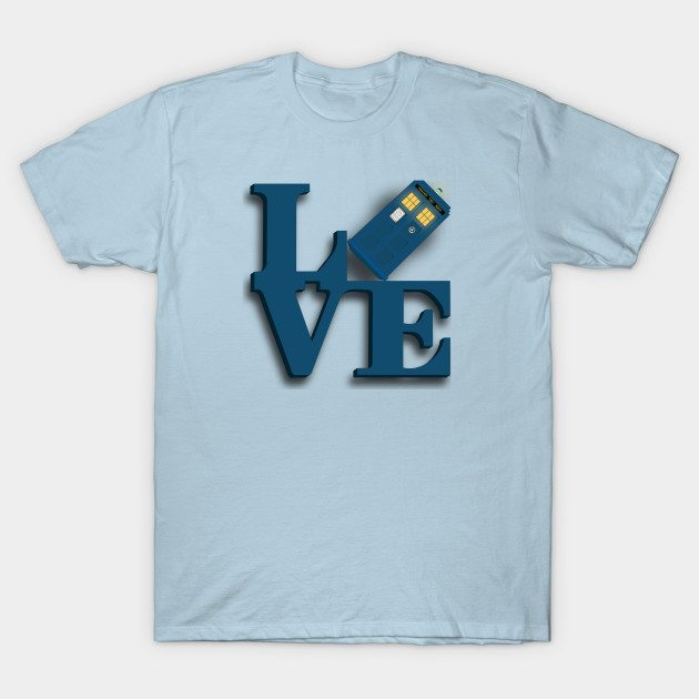 Doctor Who Love Tardis T-Shirt